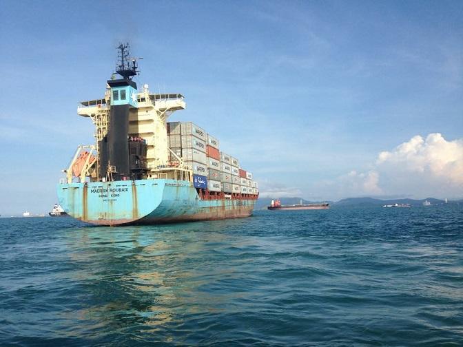 Vessel underwater Inspections in panama