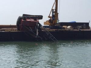 Crane and Heavy Equipment Salvage in Panama